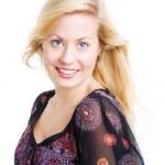 Portrait of beauliful blond sexy woman — Stock Photo #1854902