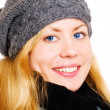 Woman in winter clothes — Stock Photo #1855442