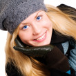 Woman in winter clothes — Stock Photo #1855444