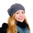 Woman in winter clothes — Stock Photo #1855448