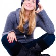 Smiling woman in winter clothes — Stock Photo #1855905