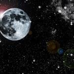 Abstract moon — Stock Photo