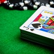 Black jack — Stock Photo