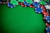 Gokken chips — Stockfoto
