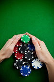 Poker win — Stock fotografie