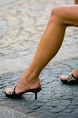 Sexy legs — Stock Photo