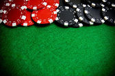 Casino gambling chips — Stockfoto