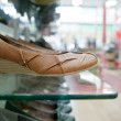 Shoes store with top quality footwear — Stock Photo