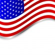 USA vector background - Stock Vector