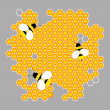 Royalty-Free Stock ベクターイメージ: Vector bee