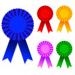 Royalty-Free Stock Vectorafbeeldingen: 5 Sets award