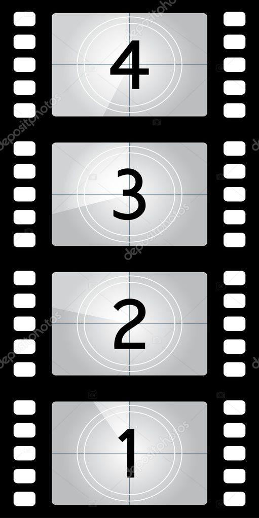 Film Countdown: Stock Vector © Dezign80 #1703735