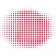Red halftone background — Stock Vector #1716186