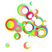 Bubbly background — Stock Vector