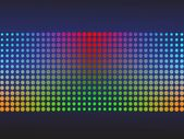 Colored Halftone Background — Stock Vector