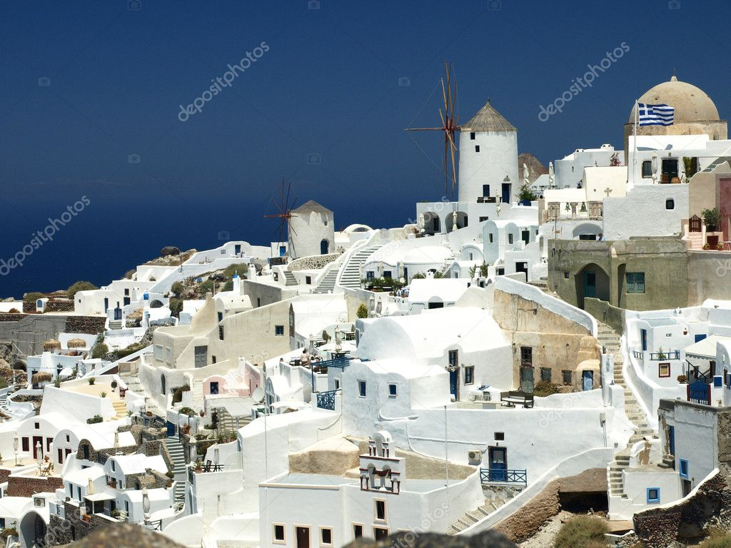 Santorini island, Cyclades, Greece — Stock Photo #2148450