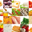 Stock Photo: Food composition