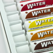Stock Photo: Water colors