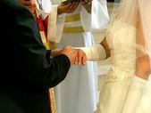 結婚式の日. — ストック写真