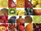 Composition of different fruits — Stock Photo