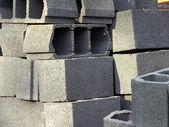 Ladrillos huecos — Foto de Stock