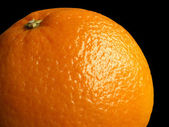 Orange with clipping path — Stock Photo