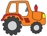 Tractor — Stock Vector