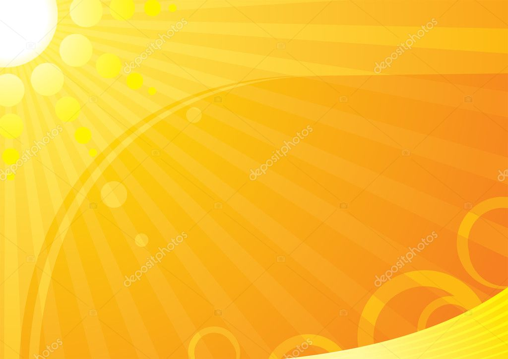 Very hot summer background — Stock Vector #1679861