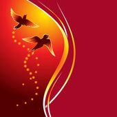 Firebirds — Stock Vector