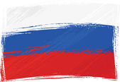 Grunge Russia flag — Stock Vector
