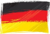 Grunge Germany flag — Stock Vector