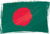 Grunge Bangladesh flag — Stock Vector