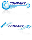 Logo for modern company — Stock Vector