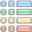 Buttons set — Stock Vector #1691981