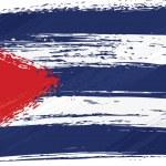 Grunge Cuba flag — Stock Vector #1692629