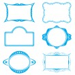 Royalty-Free Stock Vector: Frame set