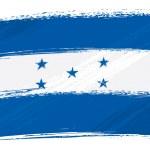 Grunge Honduras flag — Stock Vector