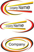 Corporate logo templates — Stock Vector