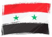 Grunge Syria flag — Stock Vector