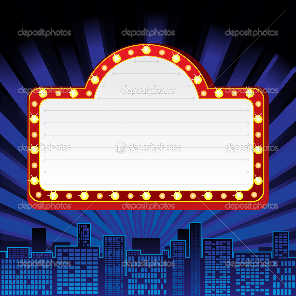 Blank Broadway Marquee | www.imgkid.com - The Image Kid ...