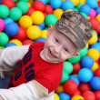 Stock Photo: Boy play on playground