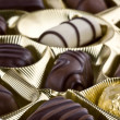 Assorted chocolates — Stock Photo