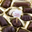 Assorted chocolates — Stock Photo #1604742
