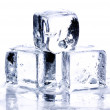 faire fondre les cubes de glace — Photo
