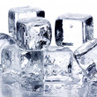 Melting ice cubes — Foto Stock