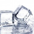 图库照片: Melting ice cubes