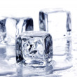 Melting ice cubes — Foto de stock #1630658