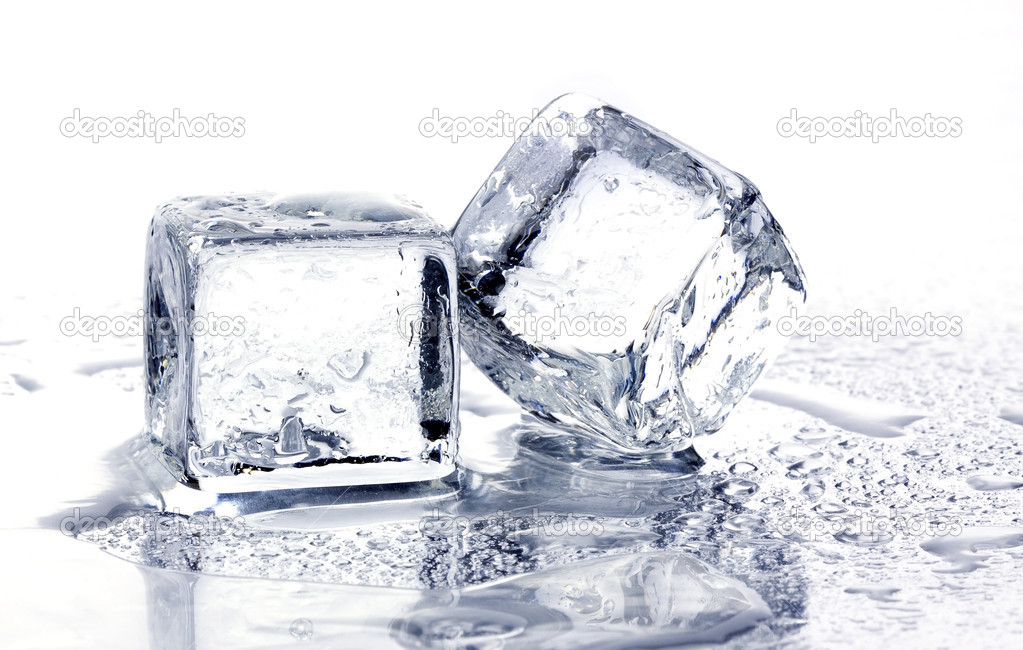 Melting ice cubes   Stok fotoraf #1630613