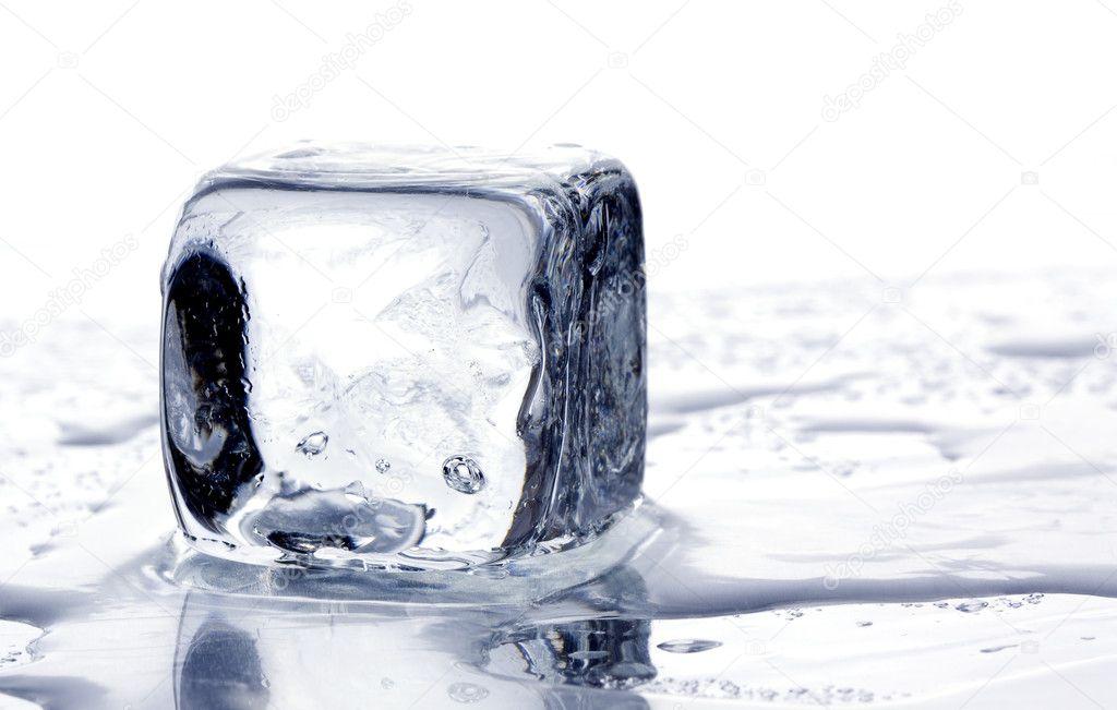 Cube Melting Melting Ice Cubes — Photo by