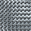 Metal flooring — Stock Photo